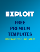 [Exploit] FREE Premium Video Templates - Make Money Selling Intro